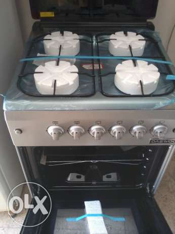 never used cooker range Full safety Turkey made 60 cms daewoo مسقط -  1