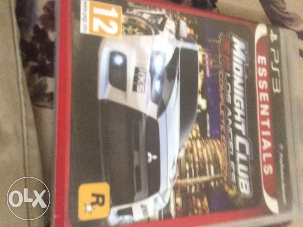 شريط MIDNIGHT Club لل بلايستيشن 3