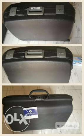 Delsey and Samsonite suitcases (Large, Medium, Small)