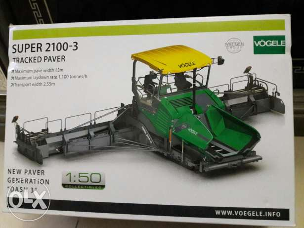 Orignal factory model vogele paver from Germany