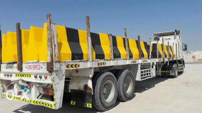 Road safety concrete barriers readily available مسقط -  3