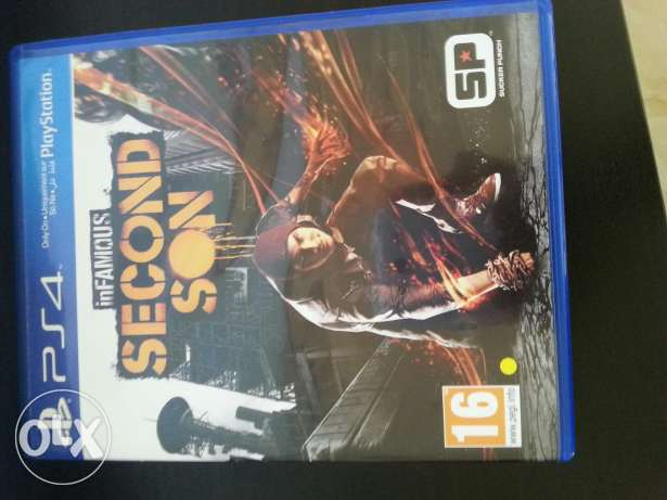 inFAMOUS second son السيب -  1