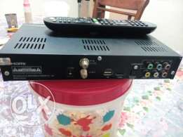 HD Dish tv Receiver and Remote only