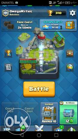 Clash Royale Account 40Rial