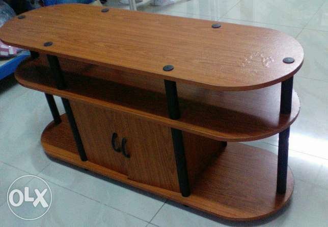 Wooden LED Stand