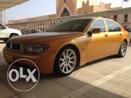 BMW 745 sailing urgently,