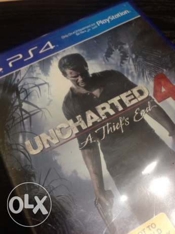 Uncharted 4 Cd PS4 انشارتد ٤