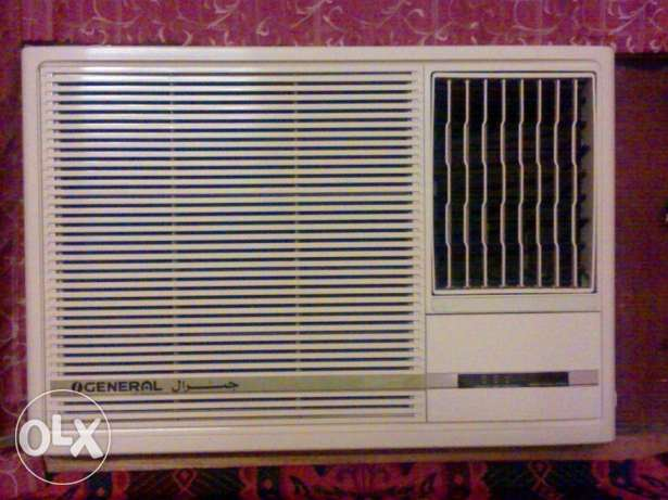 General Window A/C for sale in mind condition & Just used 2 Months.