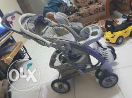 Graco baby stroller and car seat in mint condition