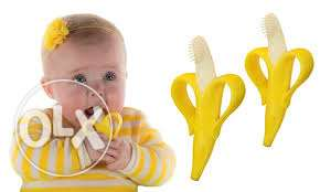 banana tooth brush for infants