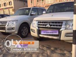 SUV car for daily rent Mitsubishi Pajero 2017