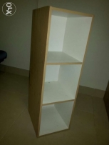 Rack white and bech color