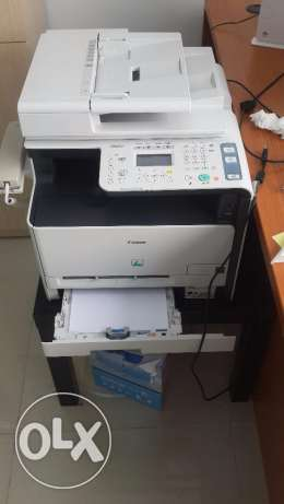 Printer with fax,photocopy options available, smooth perfect condition