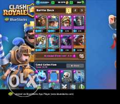 Clash Royale - Level 9 & 4 Legendaries..Rest Given Below