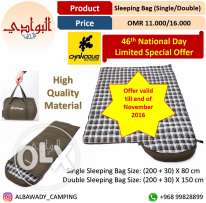 Sleeping Bag (Single & Double)