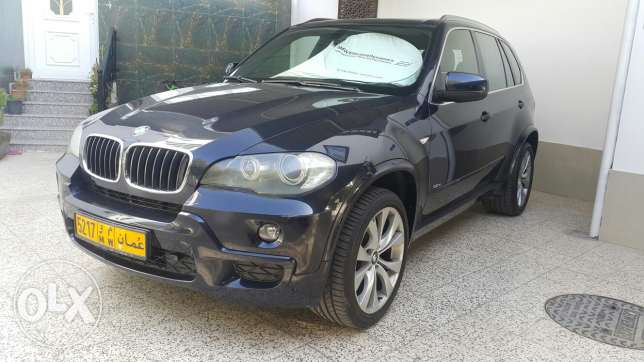 BMW X5 Model 2009 V6, 3Litre, Zero Accident, Low Mileage 92K, Oman Car