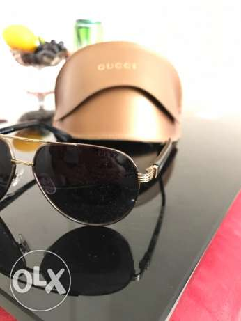 GUCCI sunglasses for sale used only one time