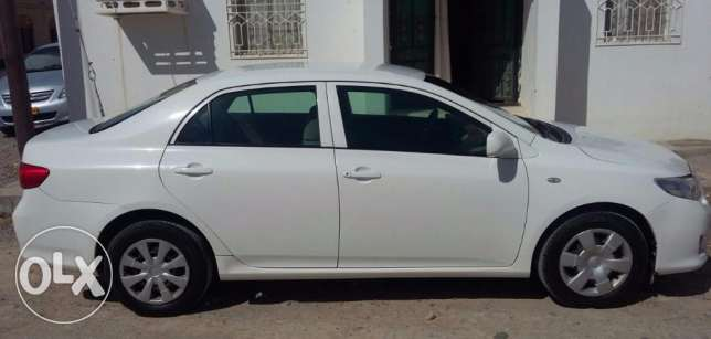 Toyota Corolla for Sale. Expat driven. First Owner. 2008 Model. مسقط -  2