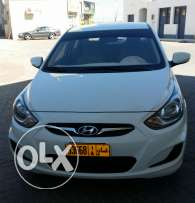 Hyundai Accent 1.6 model 2012 white