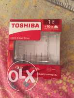 toshiba 1TB (1000GB) HDD for sale. used only once with 1 year warranty