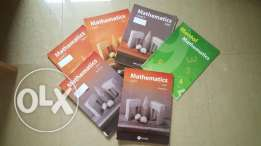 Complete Mathematics book series of chouifat school