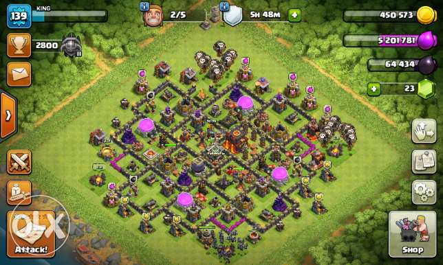 clasg of clans account for sell