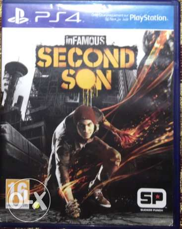 inFamous Second Son - PS4 games