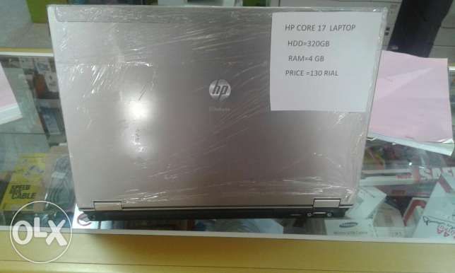 hp i7 4gb ram 320gb hdd laptop only 120 rials