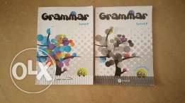 Grade 4 Grammer book and workbook of chouifat school in a good condit