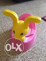 Pottie for kids !Never used ! Good quality plastic for babies!!!