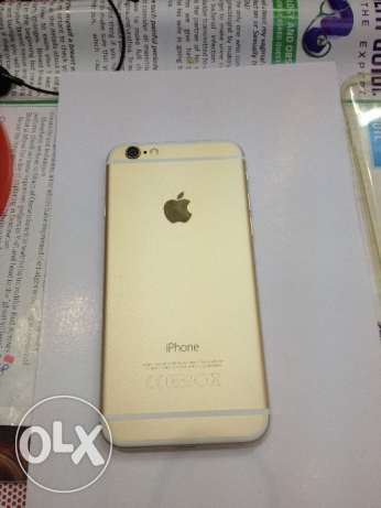iPhone 6 64 gb good condition with charger back caver بوشر -  2