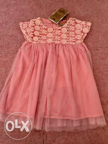 Baby Girl Dress - 12 months - Never used