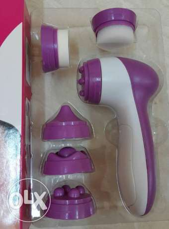 facial massager with 5 attachments- SPECIAL OFFER مسقط -  3