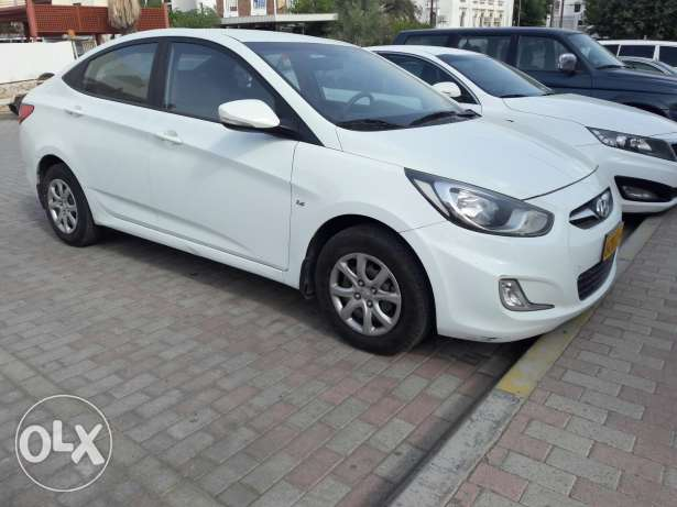 2013 accent 1.6 full automatic Oman agency ...like new بوشر -  3