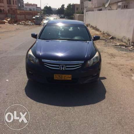 Honda Accord 2012 model V6 The number one slot and skin US imported مسقط -  1