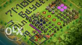 Clash of Clans TH 10..lvl 126