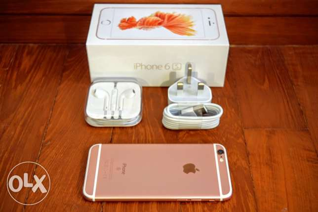 iPhone 6s 64GB Rose Gold sale or exchange مسقط -  1