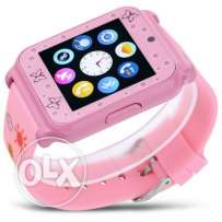 Great offer for W90 Smart Watch Phone - PINK