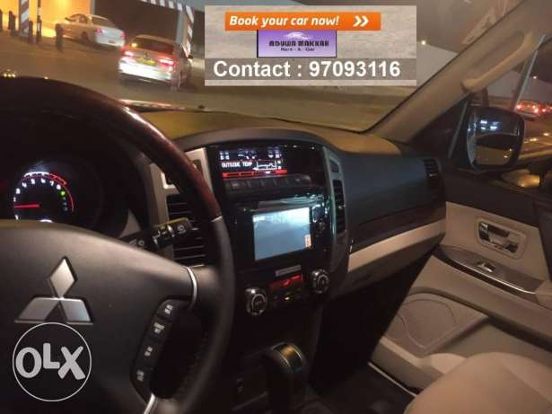 SUV car for daily rent Mitsubishi Pajero 2017 مسقط -  4