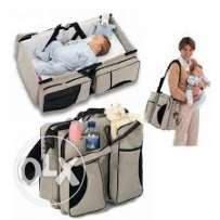 travel bag with bed for neonates