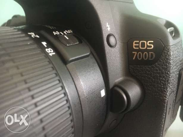 canon 700D used for two days only