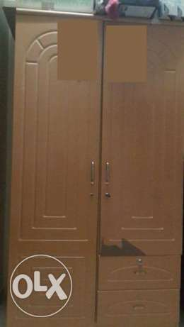 2 Door Wardrobe/Cupboard مسقط -  1