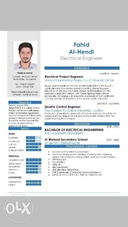 Electrical engineer looking for a job