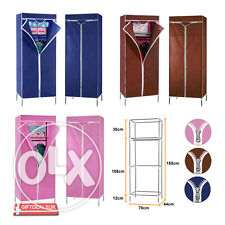 durable fabric cupboard- SPECIAL PRICE-144 cm x 40 cm x 28 cm مسقط -  1