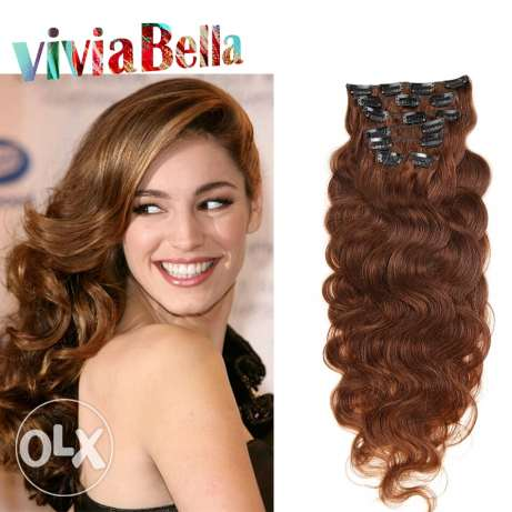 Original human hair extensions. مسقط -  1