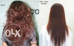 hair straightening cream- rebonding