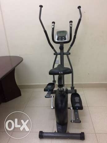 2 in 1 Magnetic elliptical cross strider