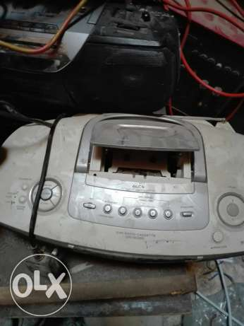 Radio casit recorder CD playes