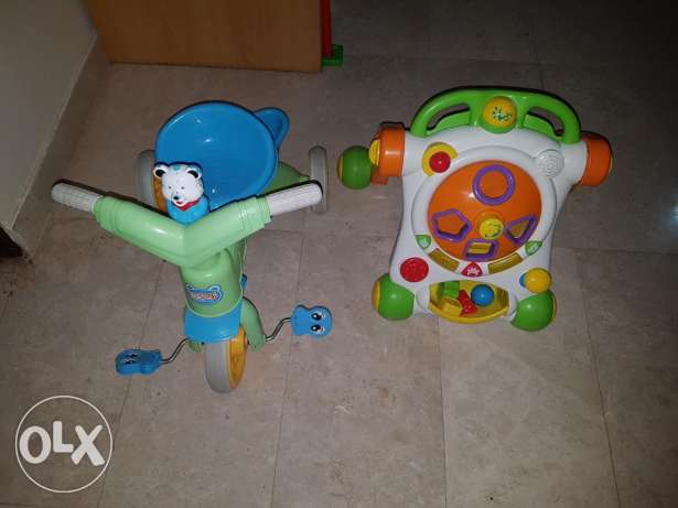 Baby walker & tricycle