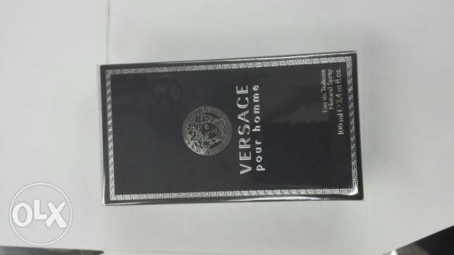 Versace pour homme perfume عطر